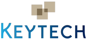 logo keytech blanc